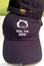 Feel The Bern  Bernie Sanders 2020 Hat Cap DEMOCRATIC Presidential Nominee adjus
