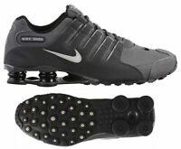 New NIKE Shox NZ Premium Athletic Sneakers Running Shoes Mens gray all sizes