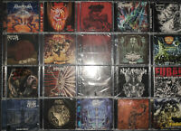 DEATH METAL Paket - 20x CDs - nagelneu / brandnew