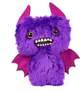 Spin Master FUGGLER Funny Ugly Monster Plush Purple Bat Count Fuggula Brand New