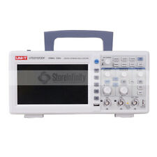 UNI-T UTD2102CEX Digital 2 Channels 1G 100MHz 7 Inch TFT LCD Storage Oscilloscop