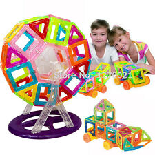 60PCS MINI Magnetic Building Blocks Toys Construction Stacking Educational Set