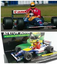 Minichamps F1 1/43 Ayrton Senna Collection 1991 Williams FW14 Mansell Taxi !!