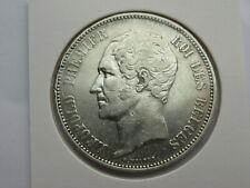 Belgie 5 francs 1858 leop I