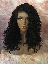 """100% Human Hair Blend Soft Lace Deep Part 22"""" Lace Front W/Baby Hair"""