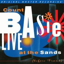 COUNT BASIE-LIVE at the sands +++ 2 LP 180 g Vinyl 45 rpm + + MFSL 2-401+ + NEUF + + neuf dans sa boîte