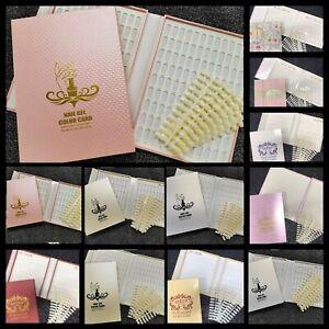 Nail Polish Display Book 120 or 216 Tips Gel Polish Nail Designs Colour Chart