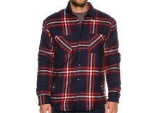QUIKSILVER Men's THE GAME PLAY Sherpa Flannel - BYJ1 - Medium - NWT