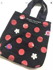 Marc Jacobs Tote Bag Daisy Perfume Bag Black Red Polka Dot Rockabilly NWT