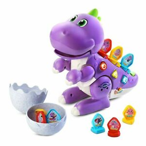 Vtech Learn and Dance Dino Purple Dinosaur New Kids Educational Xmas Toy Gift 2+