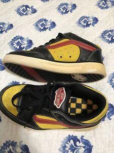 Vans 1978 TNT Vintage Professional Skateboard Shoes Leather and Suede Shoe.