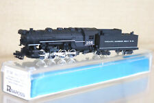RIVAROSSI 9134 N SCALE INDIANA HARBOUR BELT BRR 0-8-0 LOCO 102 MINT BOXED ng