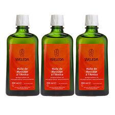 3PCS Weleda Arnica Massage Oil 200ml x3= 600ml Organic Body Oil#2394_3