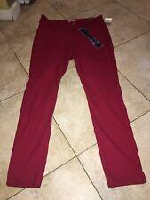 YMI Hyper stretch Jeggings  High Rise Skinny Red Cayen Size 18