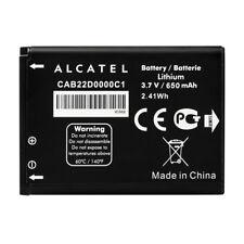 Batterie origine neuve alcatel cab22d0000c1 cab22b0000c1 pour ot 665 ot 665x 650