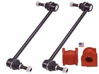 4PC FORD ESCAPE 2004 Front Sway Bar Link Kit BUSHINGS MADE IN USA