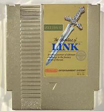 Zelda II: Adventure of Link (Nintendo, 1988) NES Gold Cartridge FREE SHIPPING!