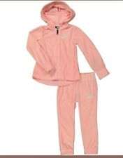 Nike Girls Velour Pink Hoodie Tracksuit *Size5/6 YRS* (110-116cm) NWTS *RRP£50*