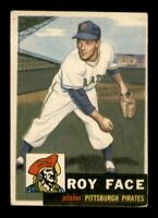 1953 Topps Set Break # 246 Roy Face VG-EX *OBGcards*