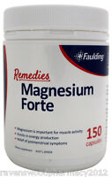 Faulding Remedies Magnesium Forte 400mg (150 Capsules) ::Relieve Muscle Cramps::