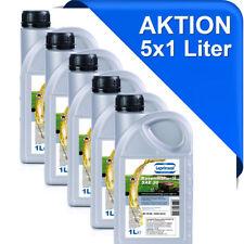 5x1l SAE30 4-Takt 4-T Rasenmäher-Öl Einbereichs Motoröl API CF SG 5 Liter