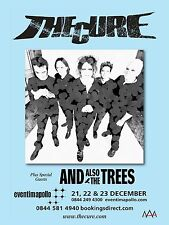 "The Cure Apollo 16"" x 12"" Photo Repro Concert Poster"