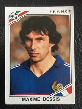 Panini - Mexico 86 World Cup - # 169 Maxime Bossis France