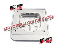 MF0218 - PORTA TARGA CROMATO PLASTICA VESPA 50 SPECIAL R L N PK S XL PORTATARGA