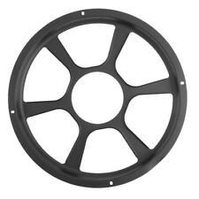 Universal 12in Car Modification Audio Speaker Protective Cover Decor Mesh Grille
