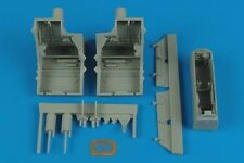 Aires 1/48 F-22A Raptor Wheel Bays for Hasegawa kit  # 4500