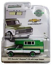 Green Machine 29921 1972 Chevy C10 Cheyenne Camper 1:64 Scale Greenlight CHASE