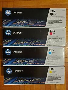 HP 131A - GENUINE SET 4 COLOR TONER (BK,Y,M,C) CF210X CF211A CF212A CF213A
