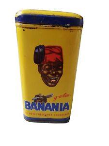 Boite banania ancienne