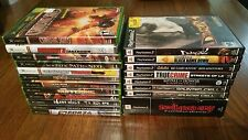 XBOX/PS2 Game Lot