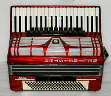 Weltmeister AMIGO 120 BASS Piano Accordion Akkordeon Fisarmonica  Very Good