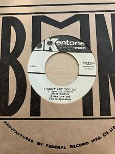 Blues Busters & Byron Lee - I Won't Let You Go / Love Me Forever Kentone Ska