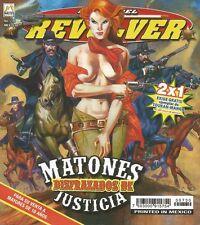 LA LEY DEL REVOLVER MEXICAN COMIC #730 MEXICO SPANISH HISTORIETA 2013 WESTERN