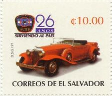 EL SALVADOR 1997 MNH SC 1472 25TH ANNIV AUTOMOBILE CLUB ACES