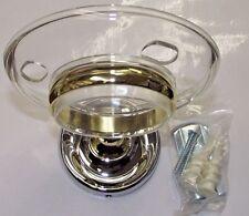 Taymor 04-Cb7905 Maxwell Toothbrush & Tumbler Holder Chrome & Brass