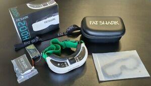 Fat Shark HDO2 FPV Brille HDO 2 + Ethix Strap + Tattu Akku