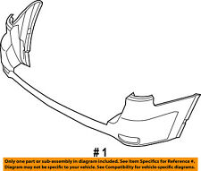 Dodge CHRYSLER OEM 11-15 Durango Rear Bumper-Cover 68092093AB