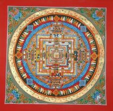 KALACHAKRA MANDALA THANGKA PAINTING FROM NEPAL