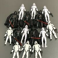 "3.75"" Star Wars Darth Vader Clone Trooper Stormtrooper Action Figure Collect Toy"
