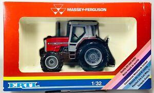 Vintage ERTL Massey-Ferguson 1/32 Scale Tractor 3050 Red & Gray In Original Box