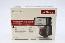 Metz Mecablitz 44 AF-1 Digital Shoe Mount Flash for  Canon