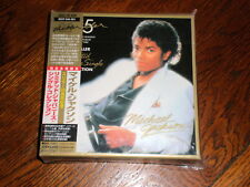 Michael Jackson CD BOX SET Thriller Collection LIMITED JAPANESE SINGLE