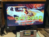 🔥💯 TESTED WORKING SUPER NINTENDO SNES GAME CARTRIDGE 🔥 SUPER OFF-ROAD BAJA 🔥