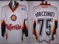 Germany Ewald Adult Xl Olympics Ice Hockey Shirt Jersey Nhl Top 75 Morczinietz
