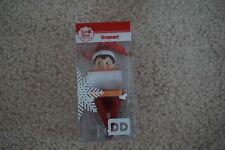 Dunkin Donuts ELF ON THE SHELF 2016 Ornament Christmas
