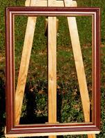 antiker Prunkrahmen Holzrahmen Massivholz 67,5 x 51 / 59 x 42,5 cm Bilderrahmen
